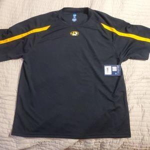 NWT Men's College sports shirt Missouri